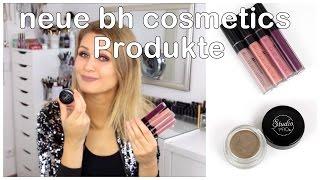 bh cosmetics liquid lipsticks studio pro brow pomade   swatches review neue produkte  deutsch