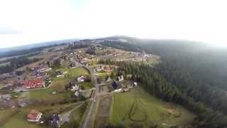 Bukowina Tatrzańska z lotu drona