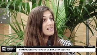 Materials & Light 2021 : Rambouillet vote pour la bioluminescence