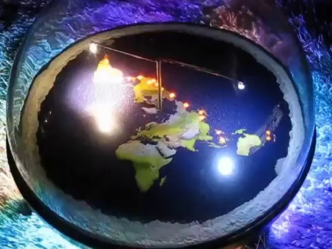 line of fire flat earth 3d model by chris c pontius mark sargent youtube