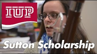 Tory Dellafiora, IUP Sutton Scholarship Recipient, Future Music Teacher