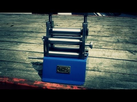 Homemade plate roller bench