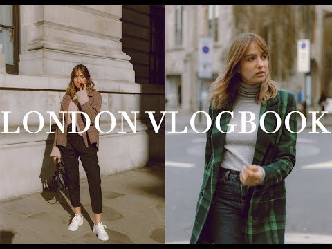 Winter Vlogbook | Exploring London & Outfits | ad