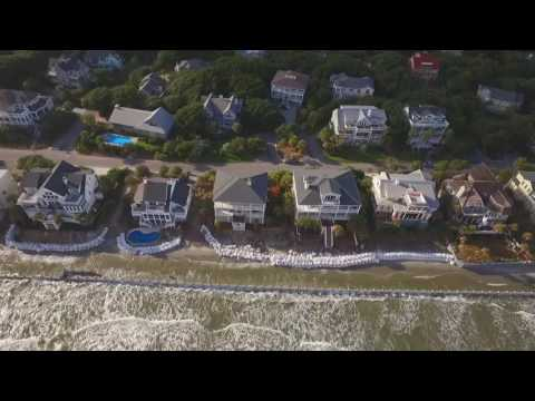 Isle of Palms SC erosion Aug 2016