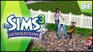 Our New Family! - Sims 3 Generations - Ep 1