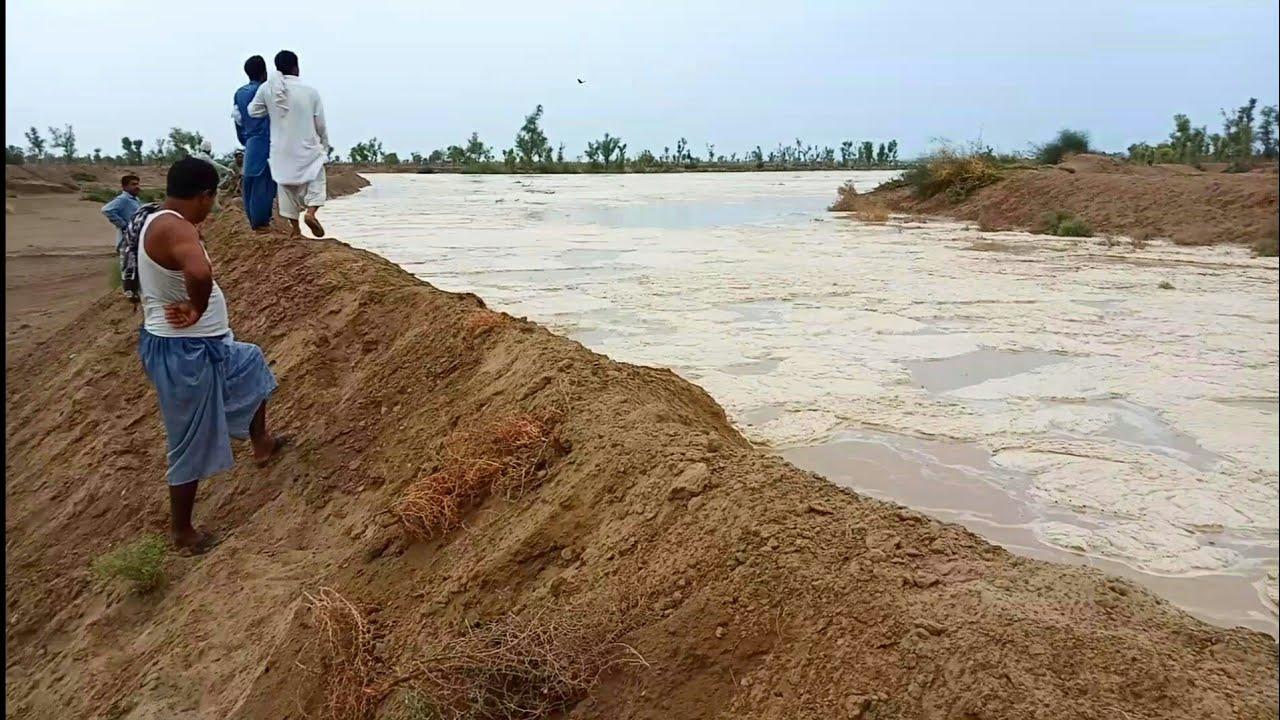 Download Very Dangerous Flash Flood In Punjab Village, Pakistan