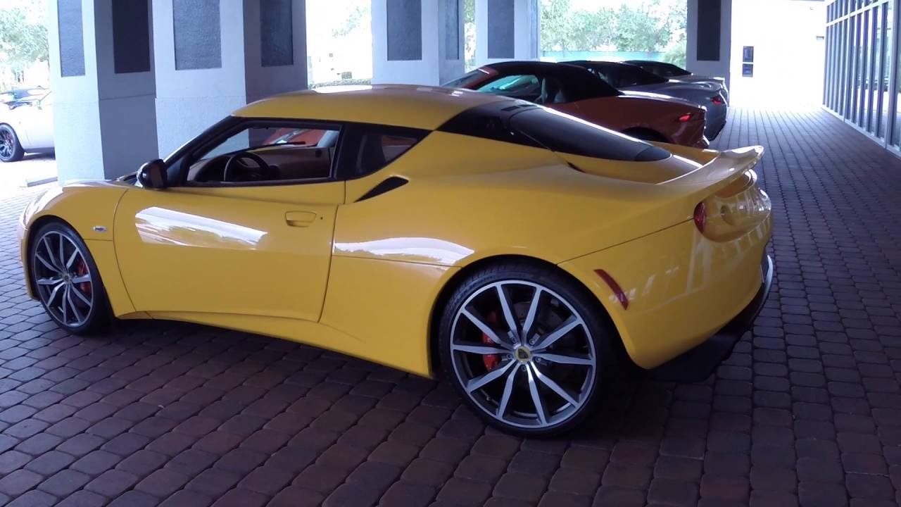 2014 lotus evora s for sale with ron ward youtube. Black Bedroom Furniture Sets. Home Design Ideas
