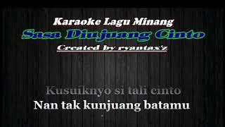 Download Lagu Karaoke Lagu Minang SASA DIUJUANG CINTO (with Lirik) - [Musik Karaoke] mp3