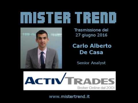 Brexit considerazioni di Carlo Alberto De Casa Senior Analyst di ActivTrades