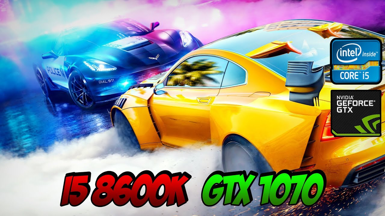 Need For Speed Heat Gameplay GTX 1070 8GB OC | 1080p Ultra Settings | Benchmark