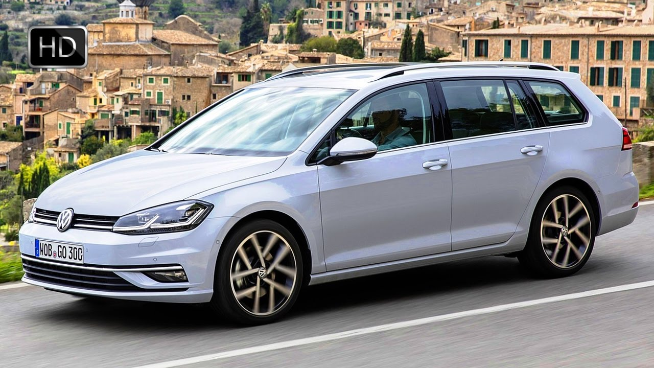 2017 volkswagen golf 7 variant facelift driving footage. Black Bedroom Furniture Sets. Home Design Ideas