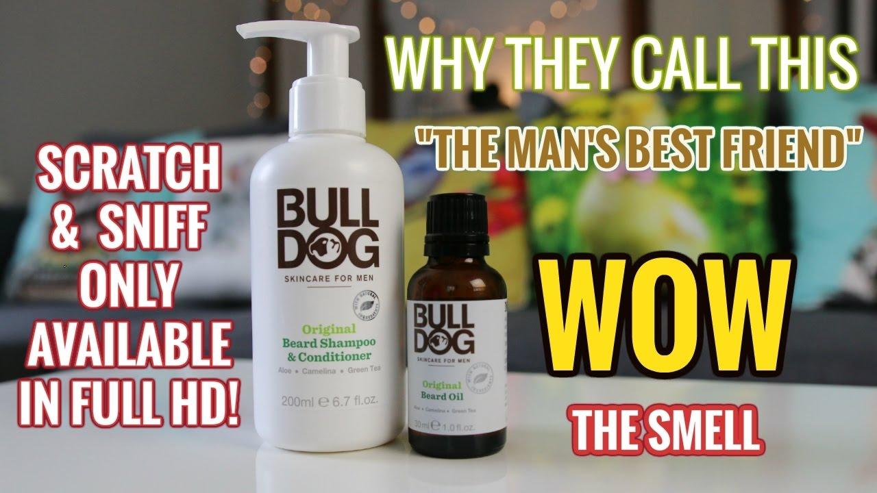 bulldog beard oil and conditioner - 48 year old beard virgin's