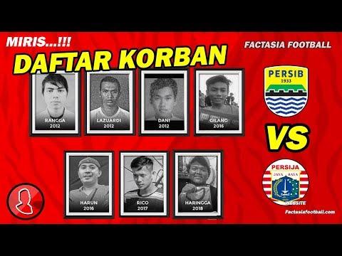 Sejak 2012, Inilah Daftar Para Korban Pertandingan Persib vs Persija