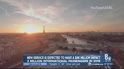 New non-stop flight from Las Vegas to Paris takes off Wednesday