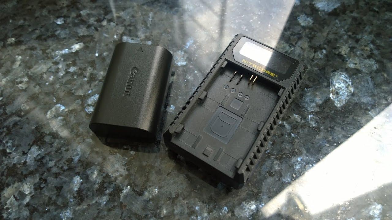 Оригинальный аккумулятор Canon lp-e6 - YouTube