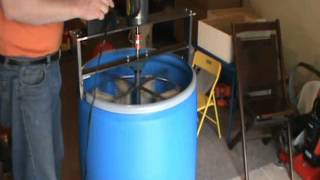 Home Made 8 Frame Honey Extractor