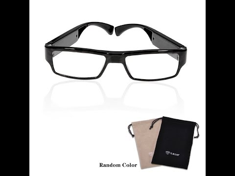 Glasses Hidden Camera NO PIN or LENS HOLE Spy Invisible ...