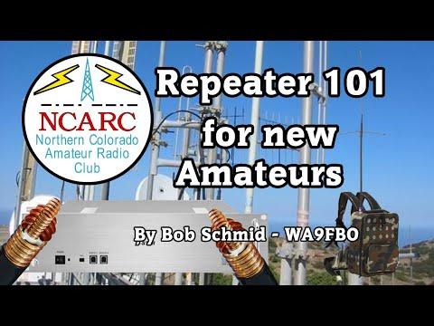 Repeater 101 For New Amateur Radio Operators