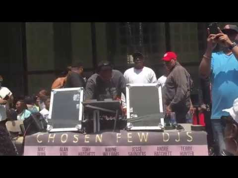 The Chosen Few DJ'S Hot Lunch Mix Dance Party @ Daley Plaza July 2015