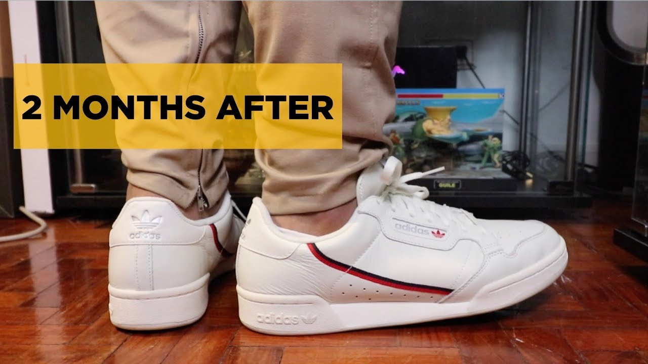 6fa044a3456a 2 MONTHS LATER  ADIDAS CONTINENTAL 80   KAMANDA REVIEW UPDATE - YouTube