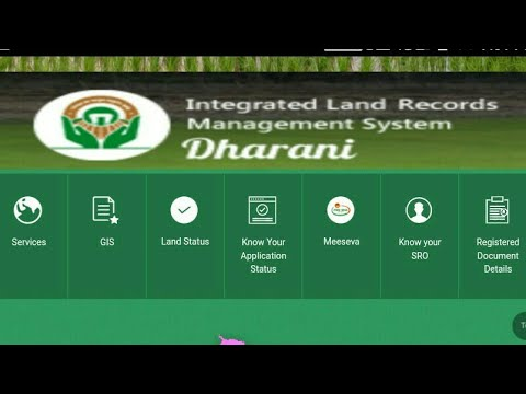 telugu10mm #land dharani latest land records 2018 || house