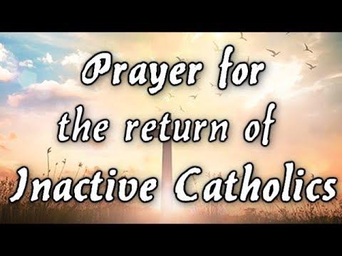 Prayer for Inactive Catholics