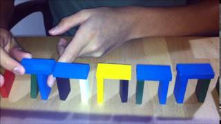 How To Make A Domino Collapsing Bridge