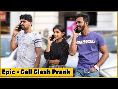 Epic - Double Call Clash Prank - Ft. Oye It's Prank | The HunGama Films