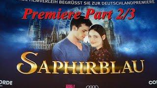 Saphirblau Premiere Köln Darsteller Nach Dem Film