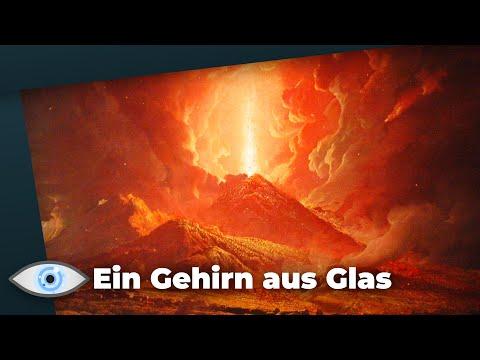 Bizarrer Fund: Vulkan-Ausbruch ließ menschliches Gehirn zu Glas schmelzen!