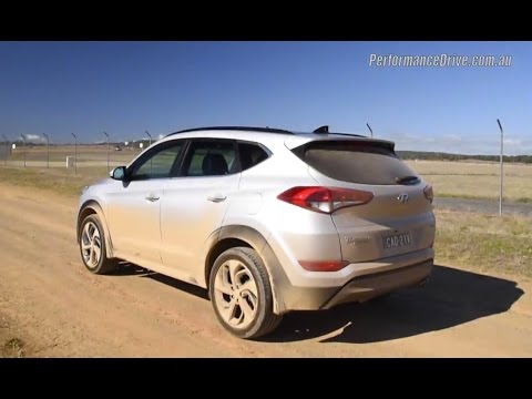 2016 Hyundai Tucson 1.6T DCT 0 100km h engine sound