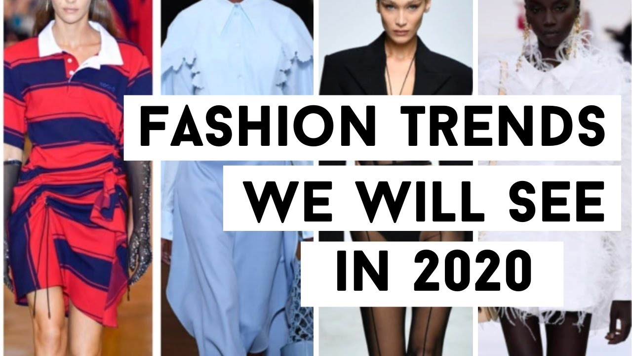 5 Coolest Fashion Trends from Spring 2020 Fashion Weeks