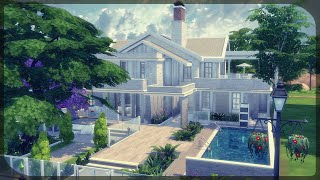 The Sims 4: House Building - Amy 88 (Block party Challenge #8)