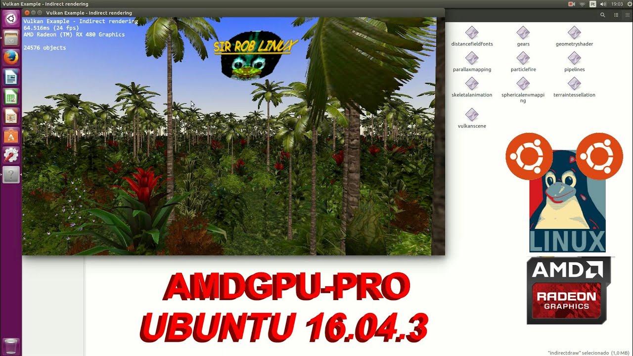 7 - AMDGPU-Pro em Ubuntu 16 04 3 LTS - YouTube