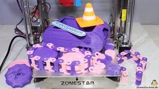 Review 3D printer Zonestar P802QR2