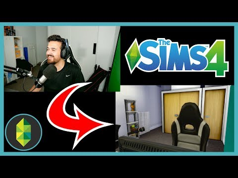 Building My Office In The Sims! (feat Elgato Key Light)