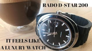 A Luxury Watch For Under €1200? Rado D-Star 200 Review