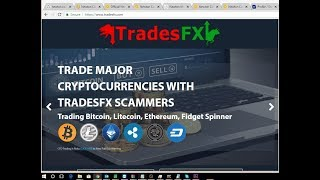 TradesFX.com Part 1 - Rookie David Miller tells me the fidget spinner coin exists