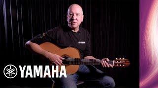 yamaha cg-ta transacoustic nylon string guitar - sound demo