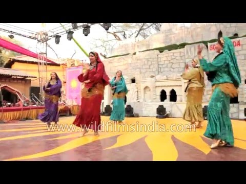 Belly dance by Egyptian dancers