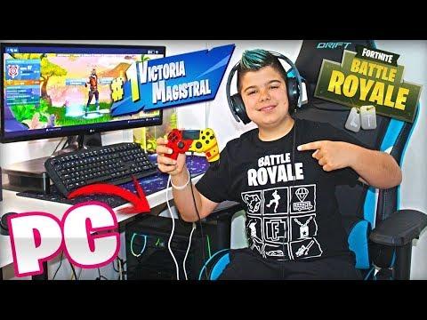 MI PRIMERA VICTORIA EN PC CON MANDO!!!
