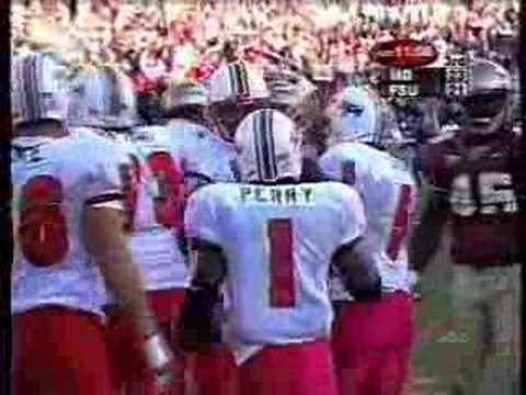 Bruce Perry vs Florida State in 2001