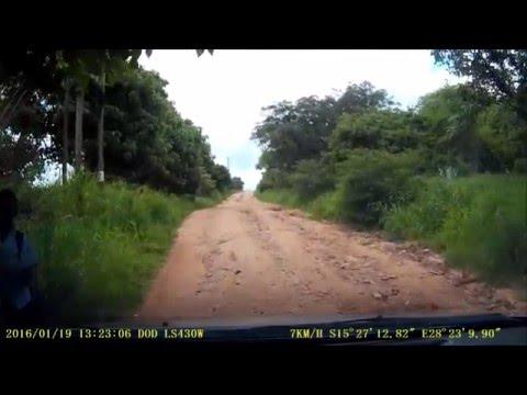 Dashcam - Driving in Lusaka - January 2016