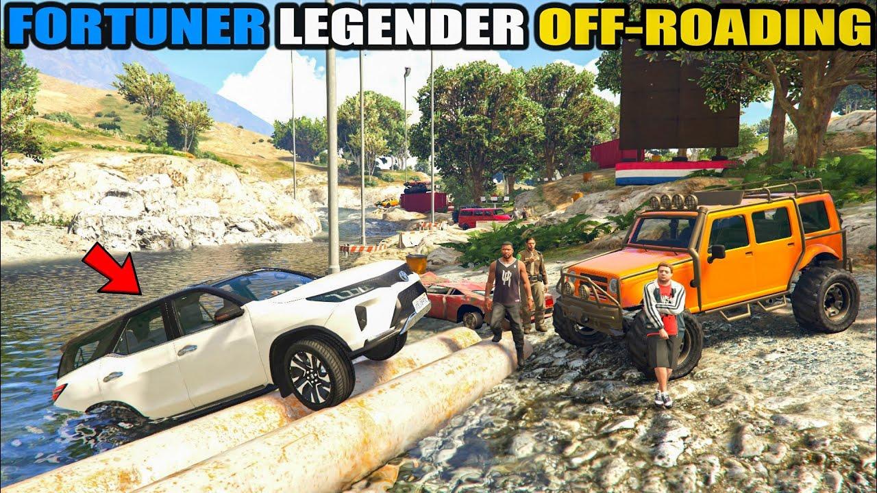 JIMMY FORTUNER LEGENDER OFF-ROADING | GTA 5 😮