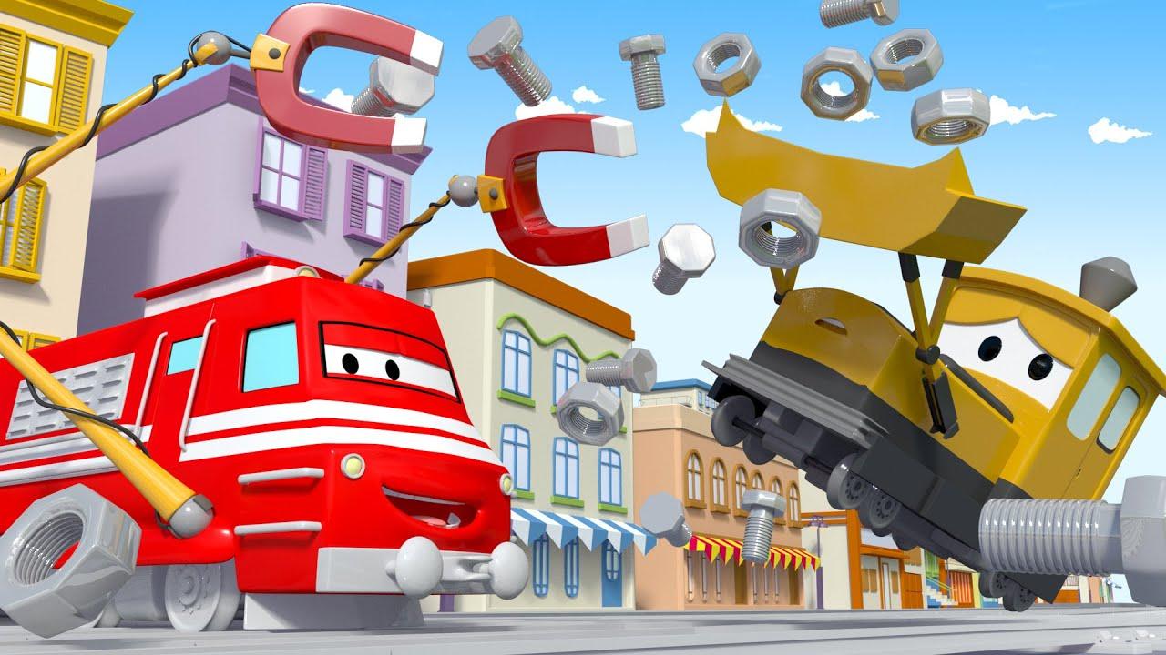 Xe lửa Troy - Xe lửa nam châm - Thành phố xe
