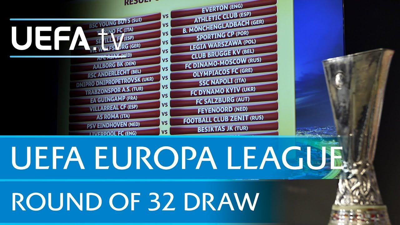 Uefa Europa Picture: UEFA Europa League Round Of 16 Draw