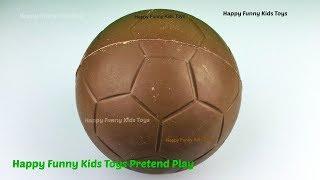 chocolate football egg surprise toys disney princess fashems ariel cinderella shopkins barbie