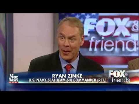 Rep. Zinke opens up about being an elite Navy SEAL commander