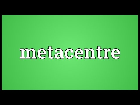 Header of metacentre