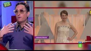"""Josie, sobre la alfombra roja de los Oscar: """"Julianne Moore estaba por encima de su vestido"""""""